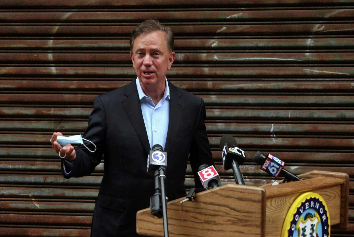 A file photo of Gov. Ned Lamont. He announced on Tuesday, Jan. 26, 2021 that the Connecticut state of emergency in response to the ongoing global pandemic has been extended through April 20.