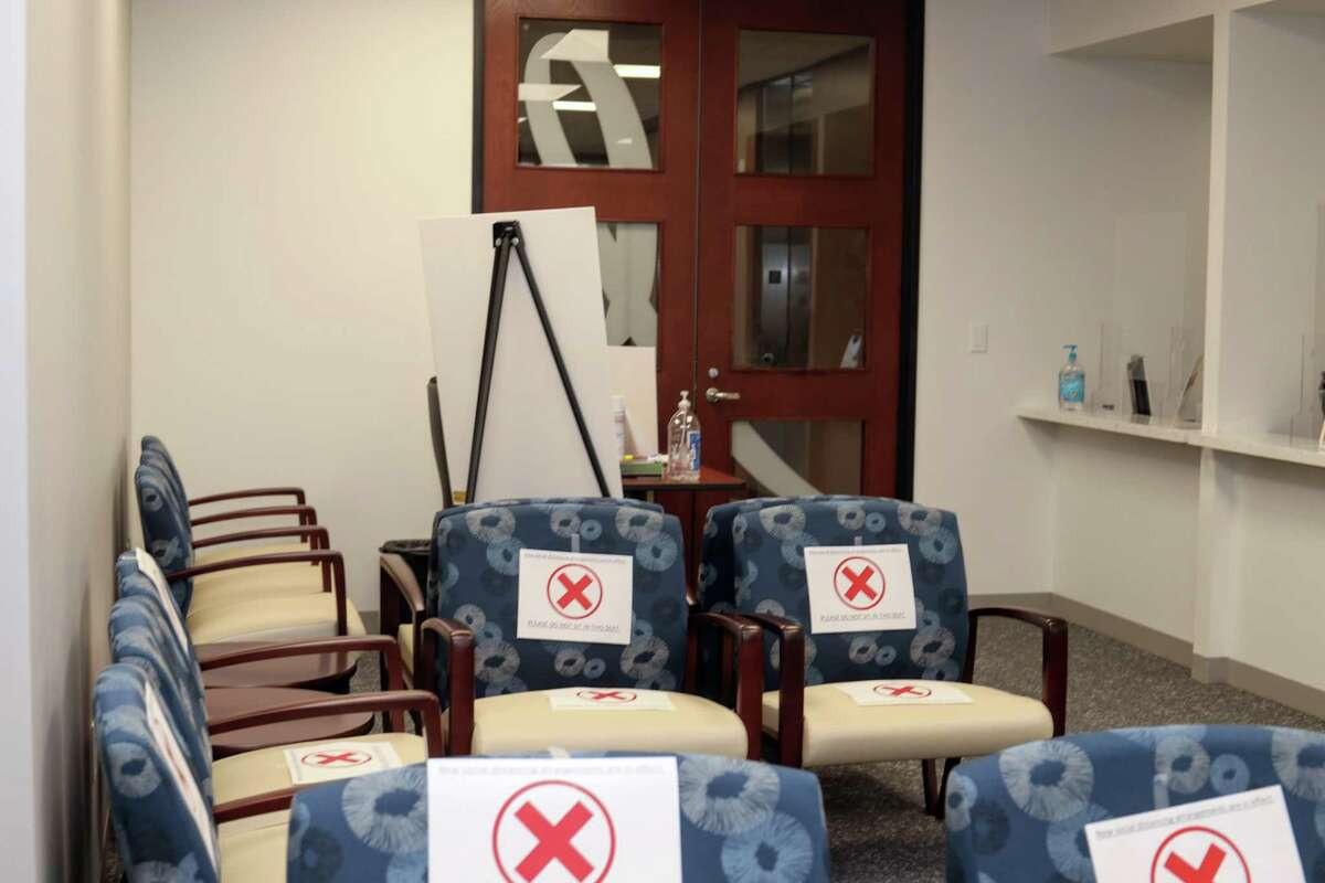 The Rose's socially distance waiting room is one of the many ways The Rose is adjusting to COVID-19 safety precautions.