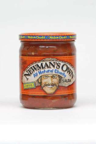 Newman's Own salsa (Paul Buckowski / Times Union) Photo: Paul Buckowski / 00009895A