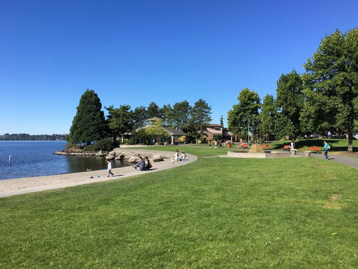 Marina Park in Kirkland, Washington.