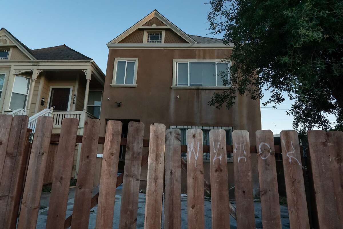 The house where a woman was killed on Ohio St. Vallejo may have sustained its 14th homicide last night, outpacing all of last year of twelve on Thursday, July 16, 2020 in Vallejo, Calif.