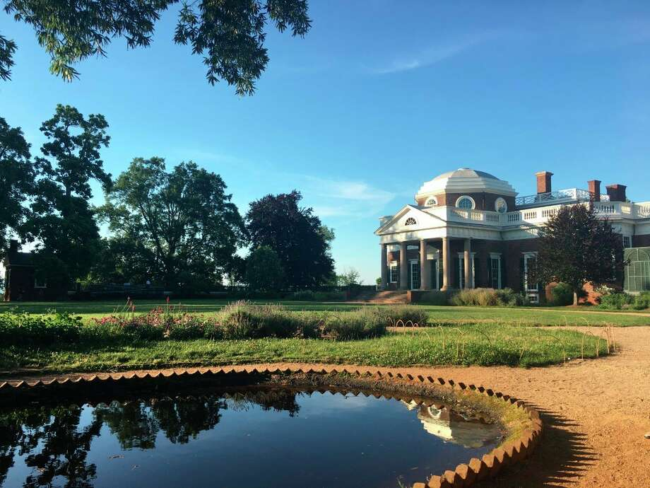 Monticello, along with one at the University of Virginia, have two of the oldest lawns in America. They both were put in by Thomas Jefferson. (Photo provided/Samantha Engel)