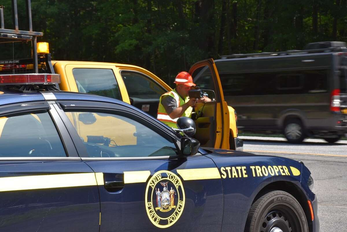 The New York State Police, Department of Transportation and Thruway Authority are teaming up for Operation Hardhat, an enforcement effort targeting work zones across the state.