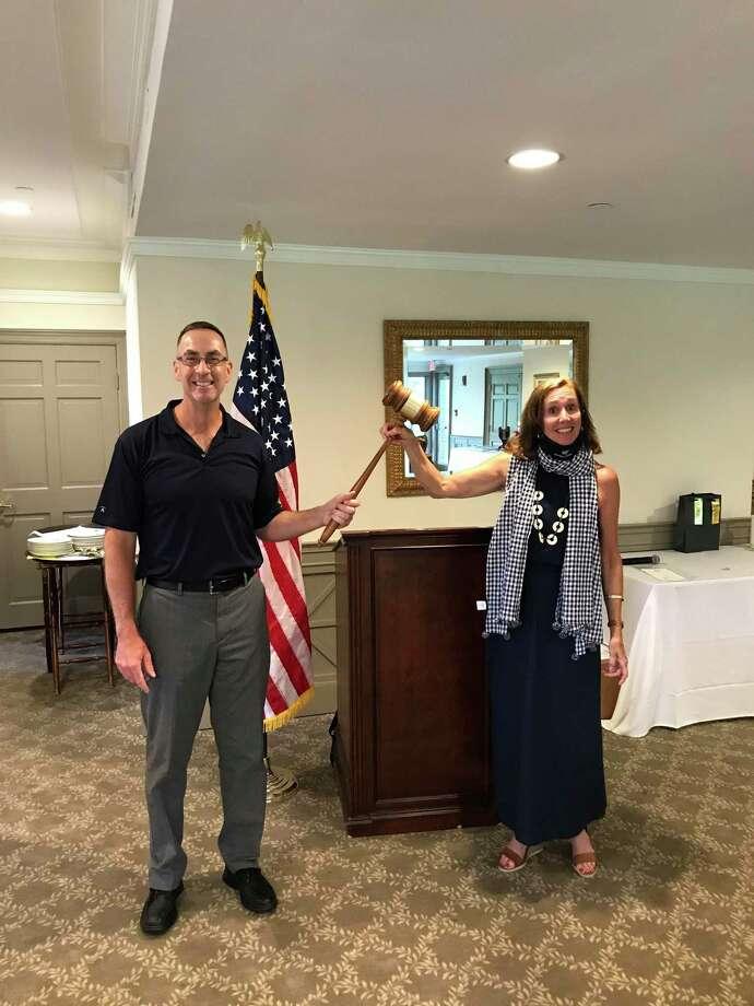 Frank Scahill is replacing Allison Fulton as the new Rotary Club of Danbury president. Photo: Rotary Club Of Danbury