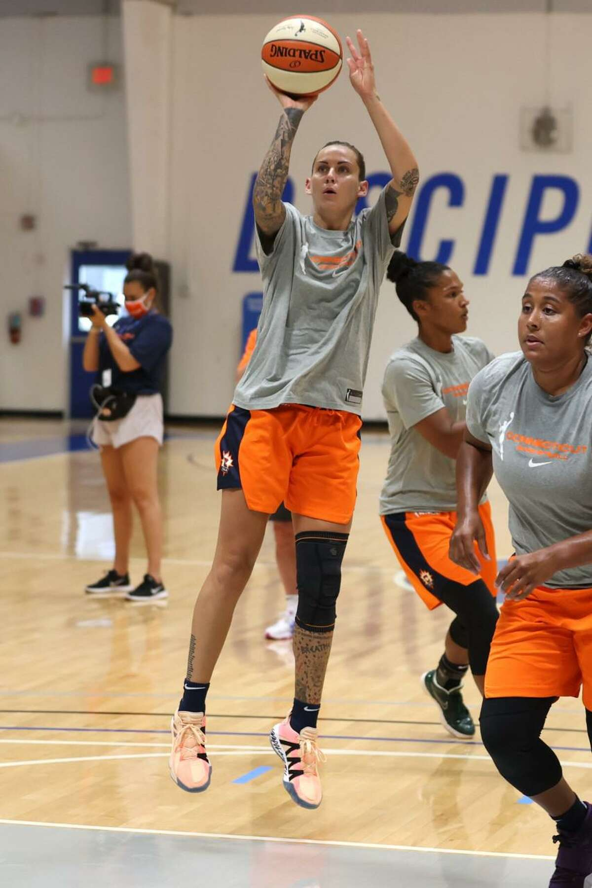 Connecticut Sun guard Jacki Gemelos is back in WNBA after a five-year absence.