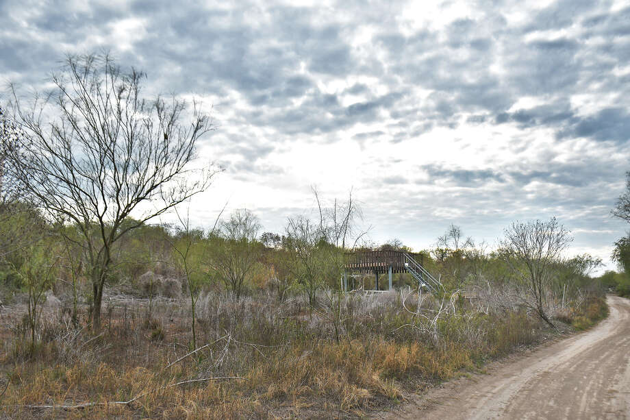 Zapata County officials are concerned about the effect a border wall will have on the San Ygnacio Bird Sanctuary. Visitors to the site can see a variety of interesting sites and sounds while walking through trails or this river road used by Border Patrol. Photo: Cuate Santos/Laredo Morning Times