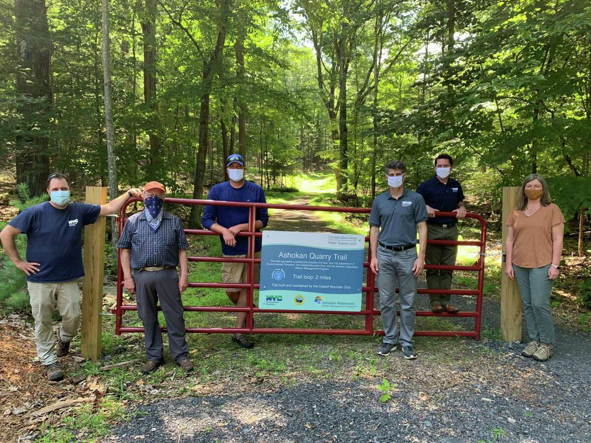 Ashokan Quarry Trail was officially opened Friday July 17, 2020. (NYC Department of Environmental Protection)