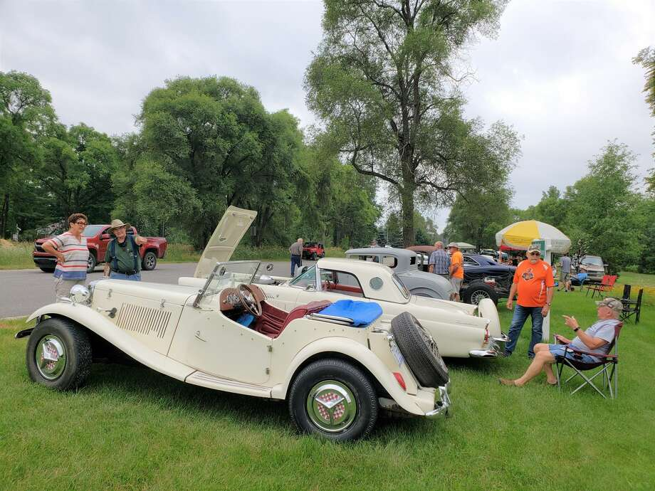 There were about 50 vehicles on display at the Kaleva Car Show Saturday, July 18, 2020. Photo: Arielle Breen