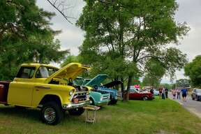 There were about 50 vehicles on display at the Kaleva Car Show Saturday, July 18, 2020.