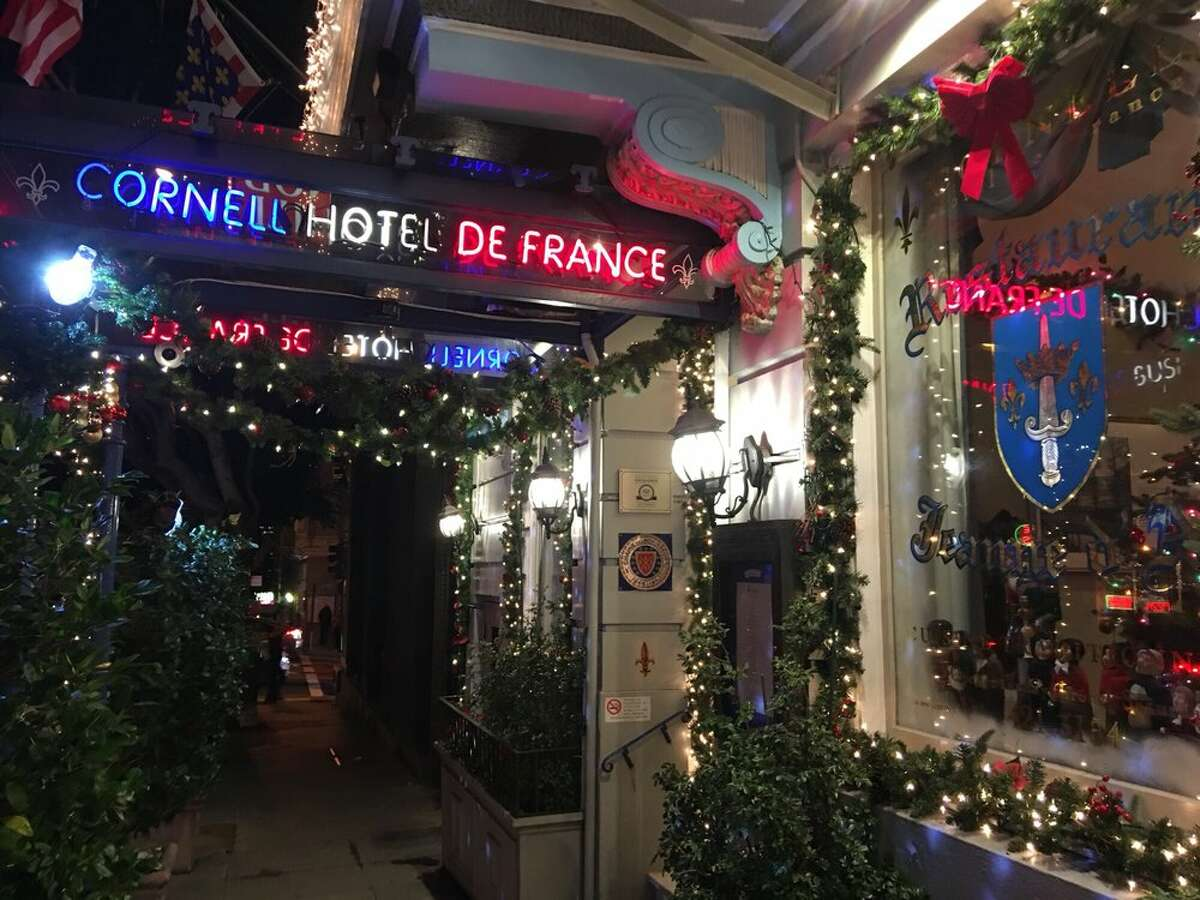 Jeanne d'Arc The exterior of the Cornell Hotel de France in Union Square is photographed on Jan. 28, 2018. The hotel housed the Restaurant Jeanne d'Arc, which has permanently closed.