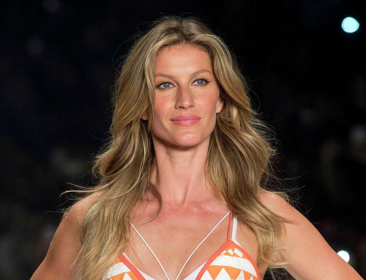 FILE - In this April 15, 2015 file photo, Brazilian supermodel Gisele Bundchen wears a creation from the Colcci Summer collection at Sao Paulo Fashion Week in Sao Paulo, Brazil. Bundchen is firing back at Brazil's agriculture minister for saying she is a