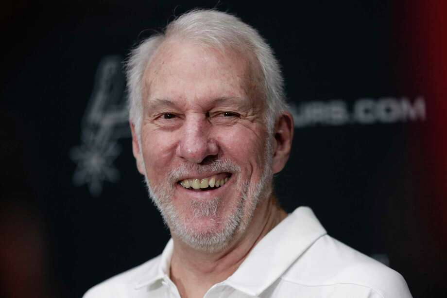 """Spurs coach Gregg Popovich remembered civil rights icon John Lewis as a leader with a rare combination of courage and humility who pushed America to """"live up to its promises."""" Photo: Eric Gay /Associated Press / Copyright 2019 The Associated Press. All rights reserved."""