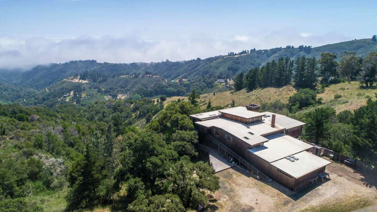Set on nearly 40 acres, the three-bedroom, three-bathroom at 45955 Pfeiffer Ridge Road in Big Sur is available for $2 million.