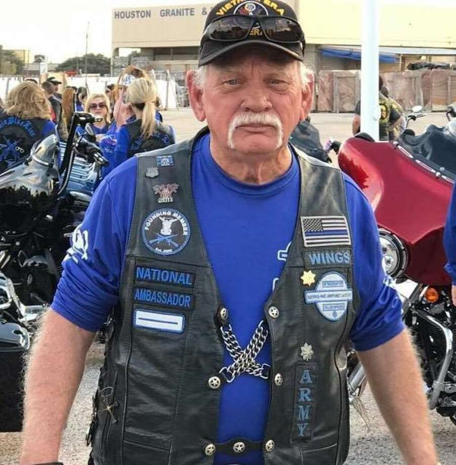 Jerry Wayne Harbour of Houston, one of three killed in a crash south of Kerrville, was a retired Army officer. Photo: Courtesy Thin Blue Line LEMC
