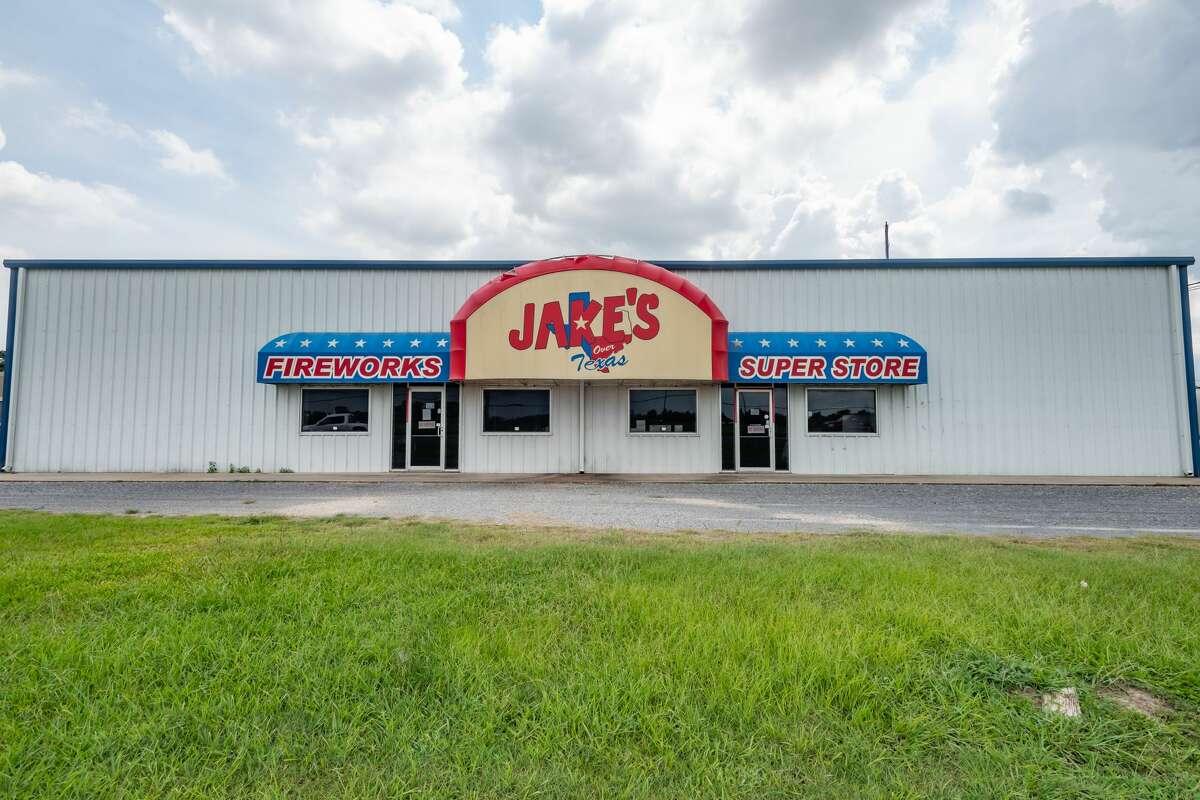 Jake's Fireworks, 2565 N. Twin City Highway in Nederland, TX. Photo made on July 19, 2020. Fran Ruchalski/The Enterprise