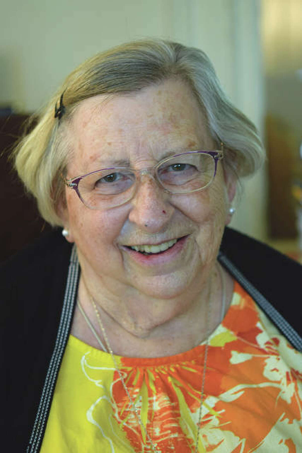 Dixie Thompson is a lifelong seamstress and was an educator at Our Saviour School for 46 years.
