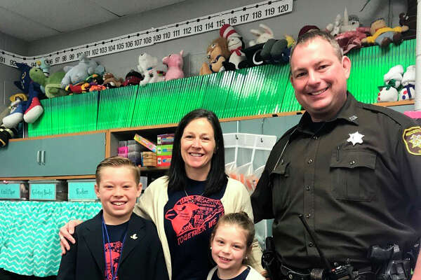 Mecosta County School Resource Officer Jason Losinski said he enjoys having the opportunity to work with children while helping others.