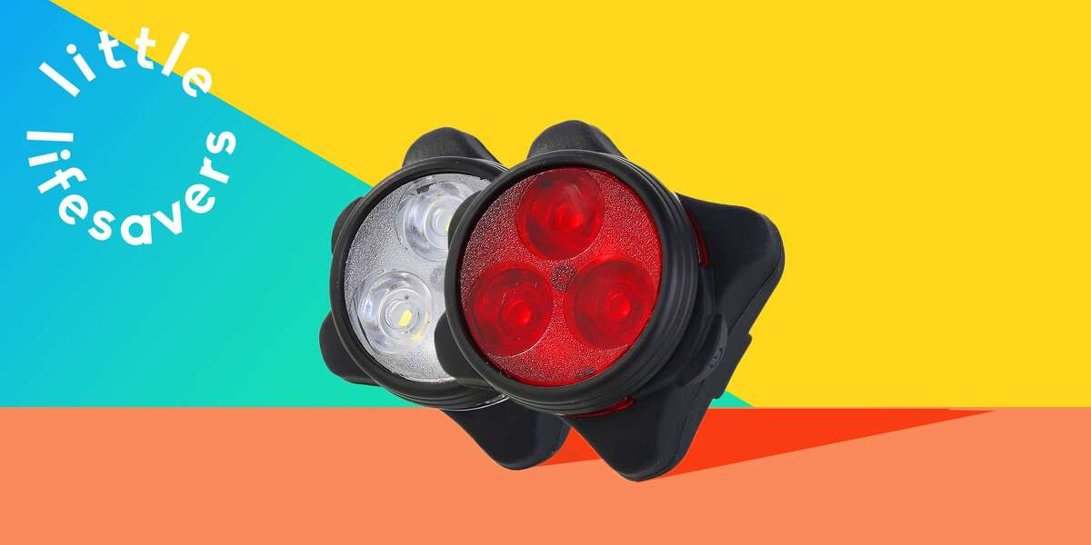These $14 LED Bike Lights Are a Cycling Essential: Make yourself more visible to both drivers and pedestrians with these under-$15 rechargeable bike lights. Check out our full review.