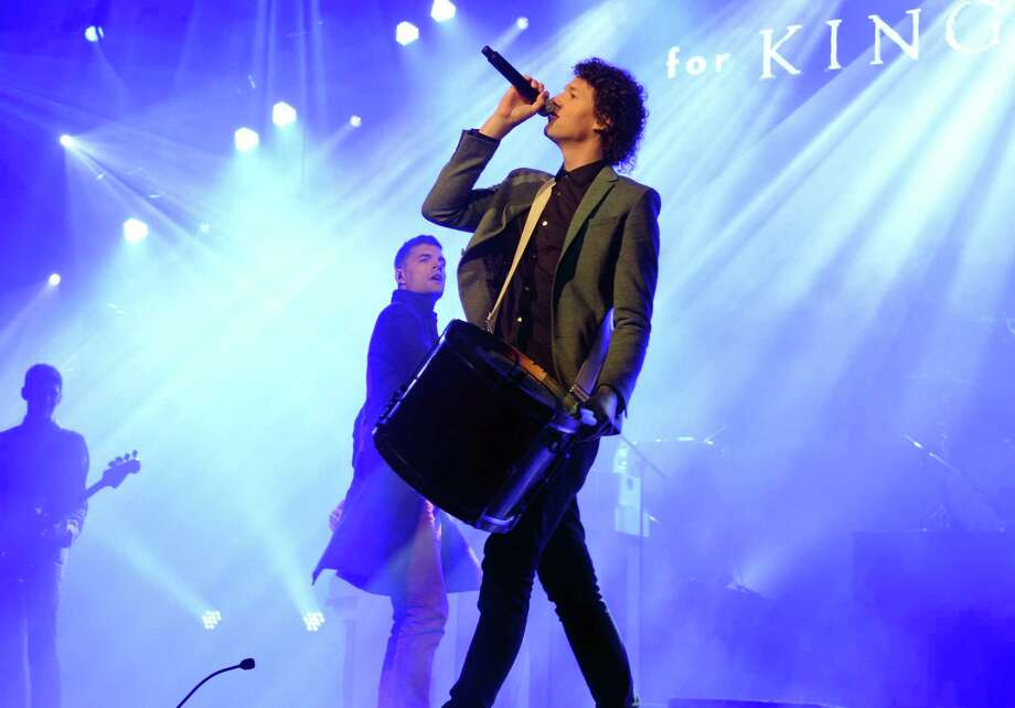 (L-R) Joel Smallbone and Luke Smallbone of For King and Country perform at the 2nd Annual KLOVE Fan Awards at the Grand Ole Opry House  on June 1, 2014 in Nashville, Tennessee.  (Photo by Rick Diamond/Getty Images) Photo: Rick Diamond, Staff / Getty Images / 2014 Getty Images