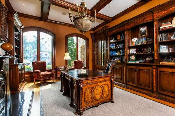 A European-style estate in New Canaan, CT, owned by the founder of JetBlue, David Neeleman, has landed on the market for $8.3 million.
