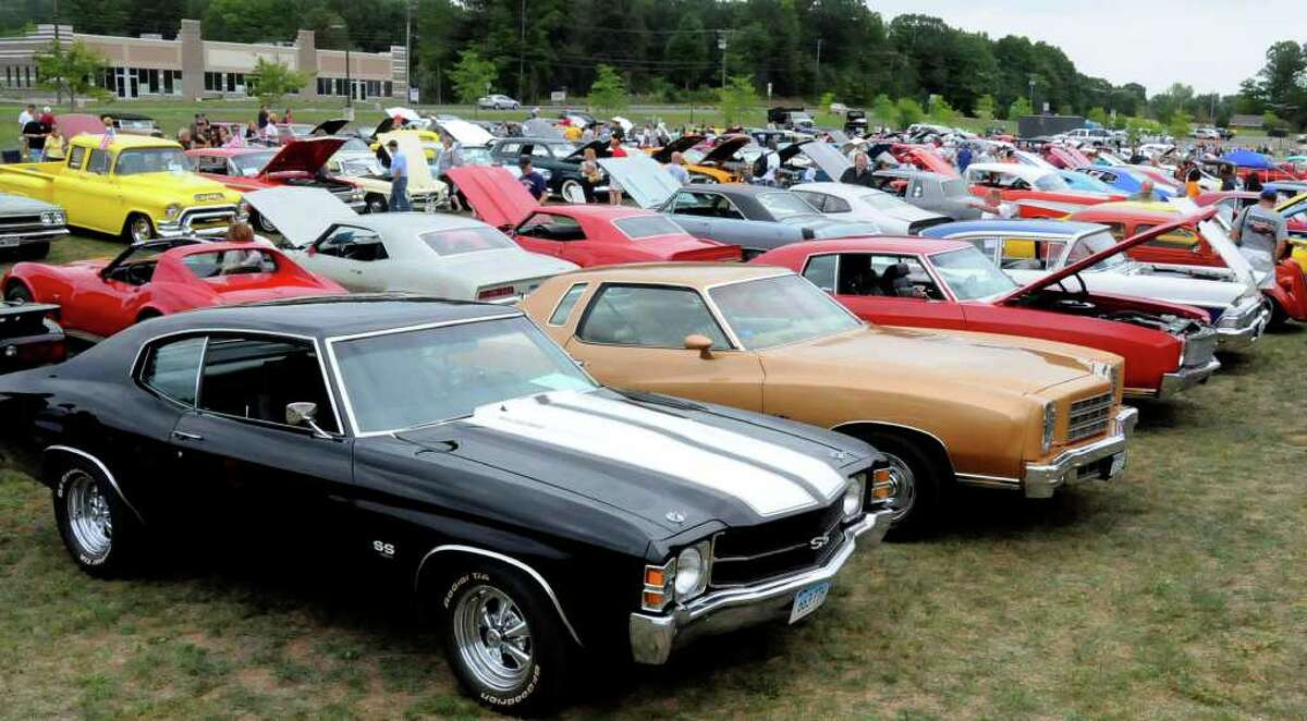 SPECTRUM/People flocked from all over to attend the fourth annual Cruzin New Milford 2010 car and motorcycle night, Aug. 15, 2010 at Faith Church in New Milford.