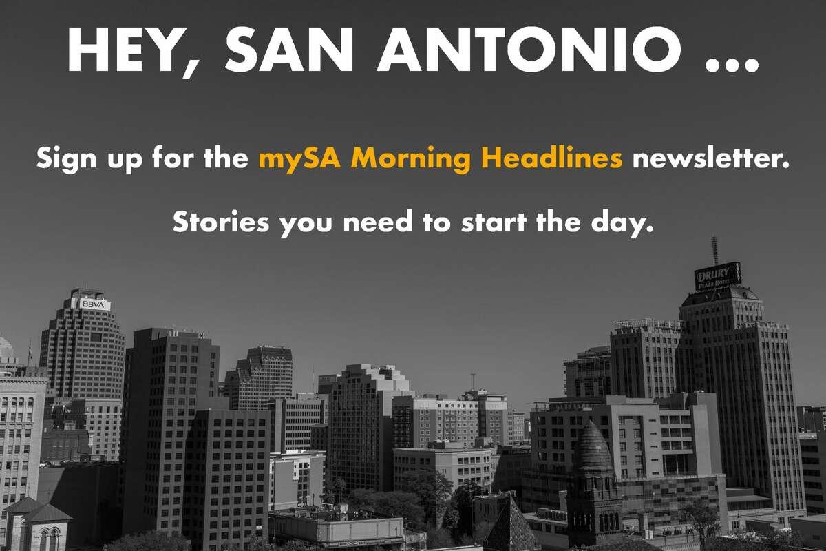 Stay in the know. Click here to sign up for mySA Morning Headlines, breaking news alerts and more.