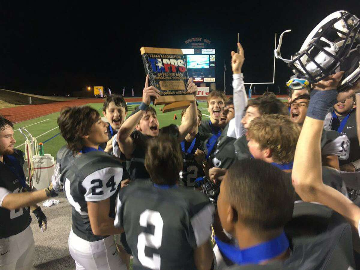The Emery/Weiner School football team won its second TAPPS Six-Man Division I state title in five years with a 31-20 victory against Dallas Lakehill Prep.