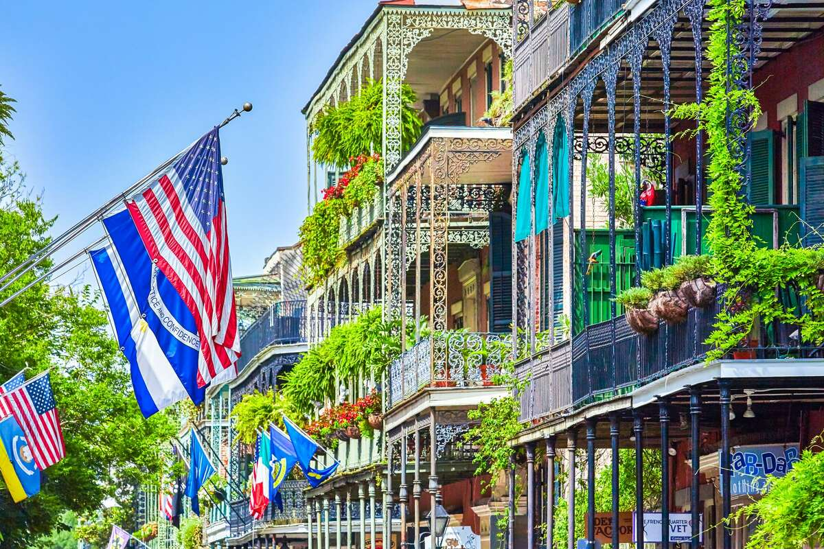 With close proximity to the riverfront, Wyndham New Orleans French Quarter is in a great location for breezy strolls through Woldenberg Park and along the Mississippi, or to enjoy a paddlewheel river boat excursion. Families with kids of all ages will enjoy the indoor heated pool for year-round enjoyment, while the city's historic streetcars are just outside the door for easy city sightseeing. For couples or solo adventurers, Moxy New Orleans has a fresh and funky vibe with a 24-hour central bar and coffee station on the lower level perfect for morning pick-me-ups and evening winddowns. Rooms have an industrial chic decor and are thoughtfully packed with amenities while maintaining a minimalist aesthetic. Moxy straddles between the French Quarter and Downtown districts, making this a great location for exploration throughout New Orleans. Rental car facilities are just around the corner for those who want a daytrip outside the city.