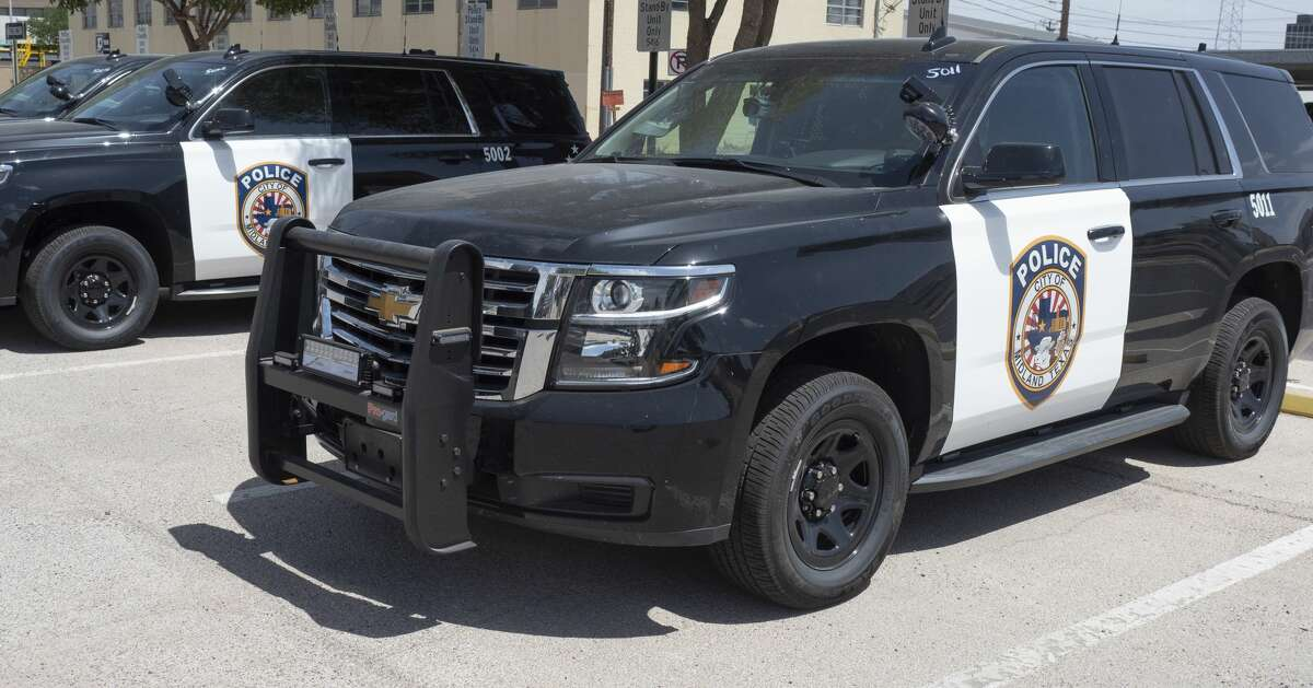 Midland Police Department is replacing their patrol vehicles with new black and white SUV's like these seen 07/20/2020. Tim Fischer/Reporter-Telegram