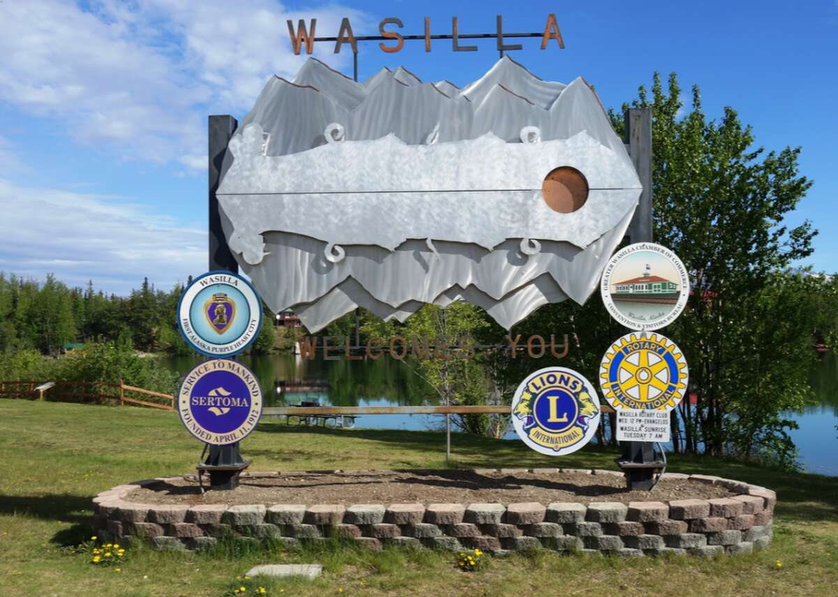 """Alaska: Matanuska-Susitna Borough - Population: 103,464 - Median home value: $243,000 (77% own) - Median rent: $1,112 (23% rent) - Median household income: $75,905 Matanuska-Susitna Borough, nicknamed Mat-Su Valley, in south-central Alaska offers an excellent and eclectic retirement spot with libraries, walking trails, miles of scenic drives, and more. Retirees can enjoy recreational adventures year-round through dog sledding trips, wildlife viewing excursions, farm tours, and the Alaska State Fair. The local chamber of commerce of the community of Wasilla, the commercial center of the Matanuska-Susitna Borough, promotes the area's """"charm, security, and familiarity of small-town living,"""" along with affordable housing, a growing economy, and excellent government services."""