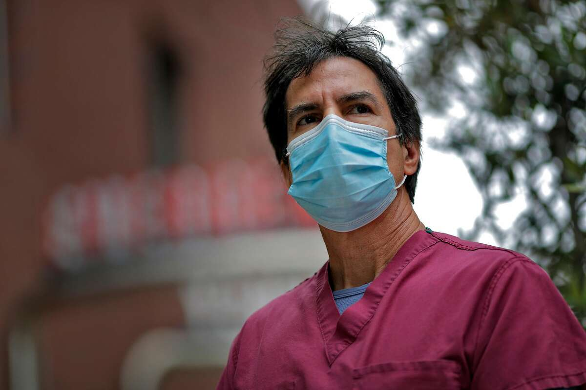 Dr. Robert Rodriguez, a professor of emergency medicine at UCSF, was lead author of a study on the stress suffered by health care workers during the pandemic.