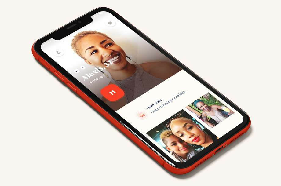 Heybaby is a new dating app aimed at people who have or want children. Photo: Heybaby