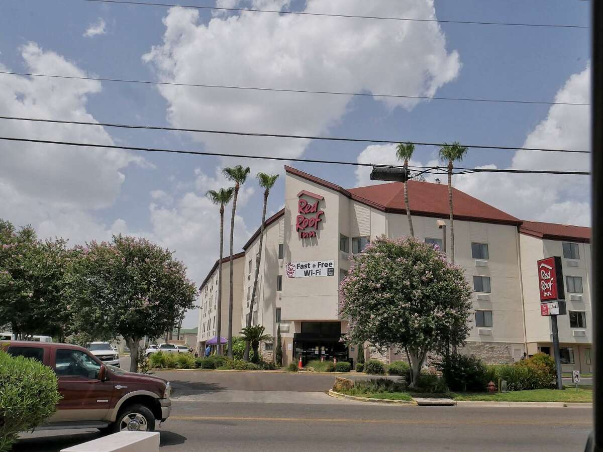 After being converted as an overflow facility for COVID-19 patients, Red Roof Inn received its first patients on Monday.
