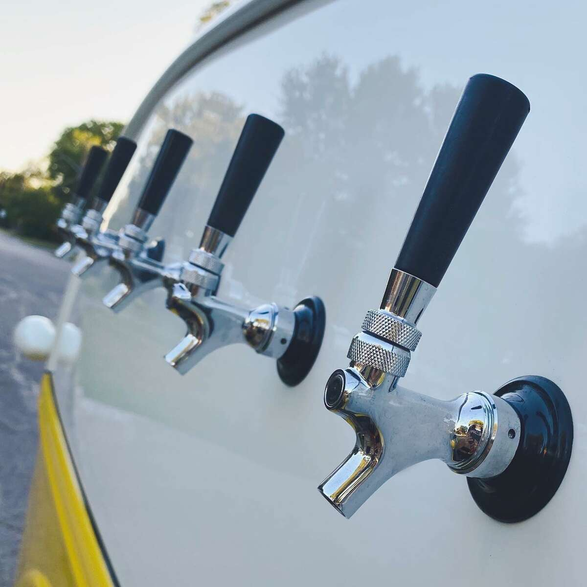 The truck has five taps and can serve any type of alcoholic or non-alcoholic beverage a client chooses. Since the launch of the business, Ramirez and Combs said local beers and wines have been a big hit among their clients.
