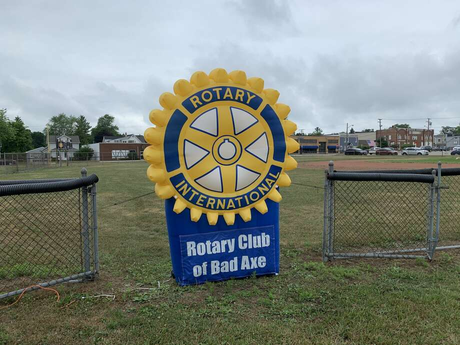 The Rotary Club of Bad Axe held its first Match Day fundraising event on July 16 that benefited three local non-profits. The Rotary Club matched up to $1,250 donated to each of the three organizations and had a grand total of over $13,000 in donations for the day. Photo: Paige Withey