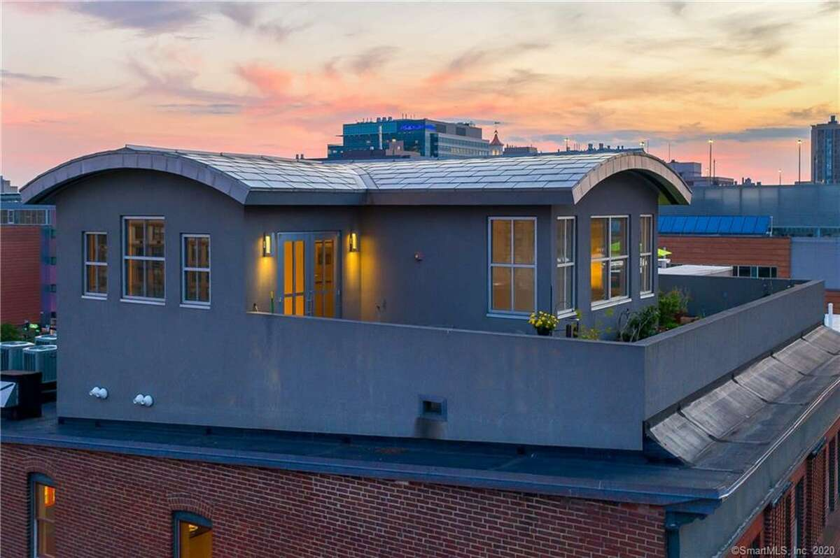 According to the listing, this is the first time unit 5A has been available for resale. The 2,245 square-foot apartment has two bedrooms, two bathrooms and a private roof.