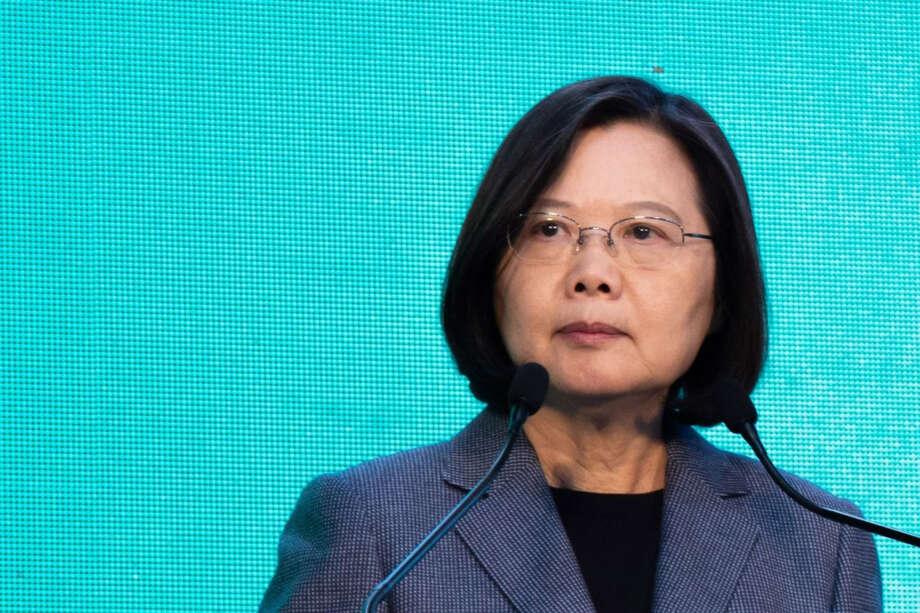 Tsai Ing-wen, Taiwan's president, in Taipei, Taiwan, on Jan. 11, 2020. Photo: Bloomberg Photo By Betsy Joles. / © 2020 Bloomberg Finance LP