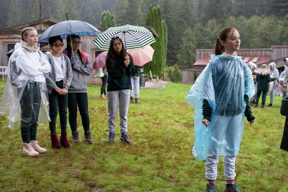 "The ""Baby-Sitters Club"" has one season on Netflix. Photo: Kailey Schwerman /Netflix / Contributed Photo / MICHAEL COURTNEY /NETFLIX / BSC_MC_100419_0118"