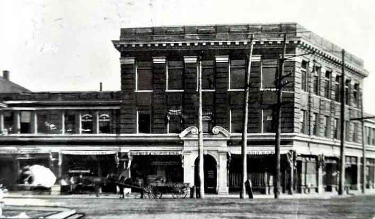Bohm Building circa 1912.