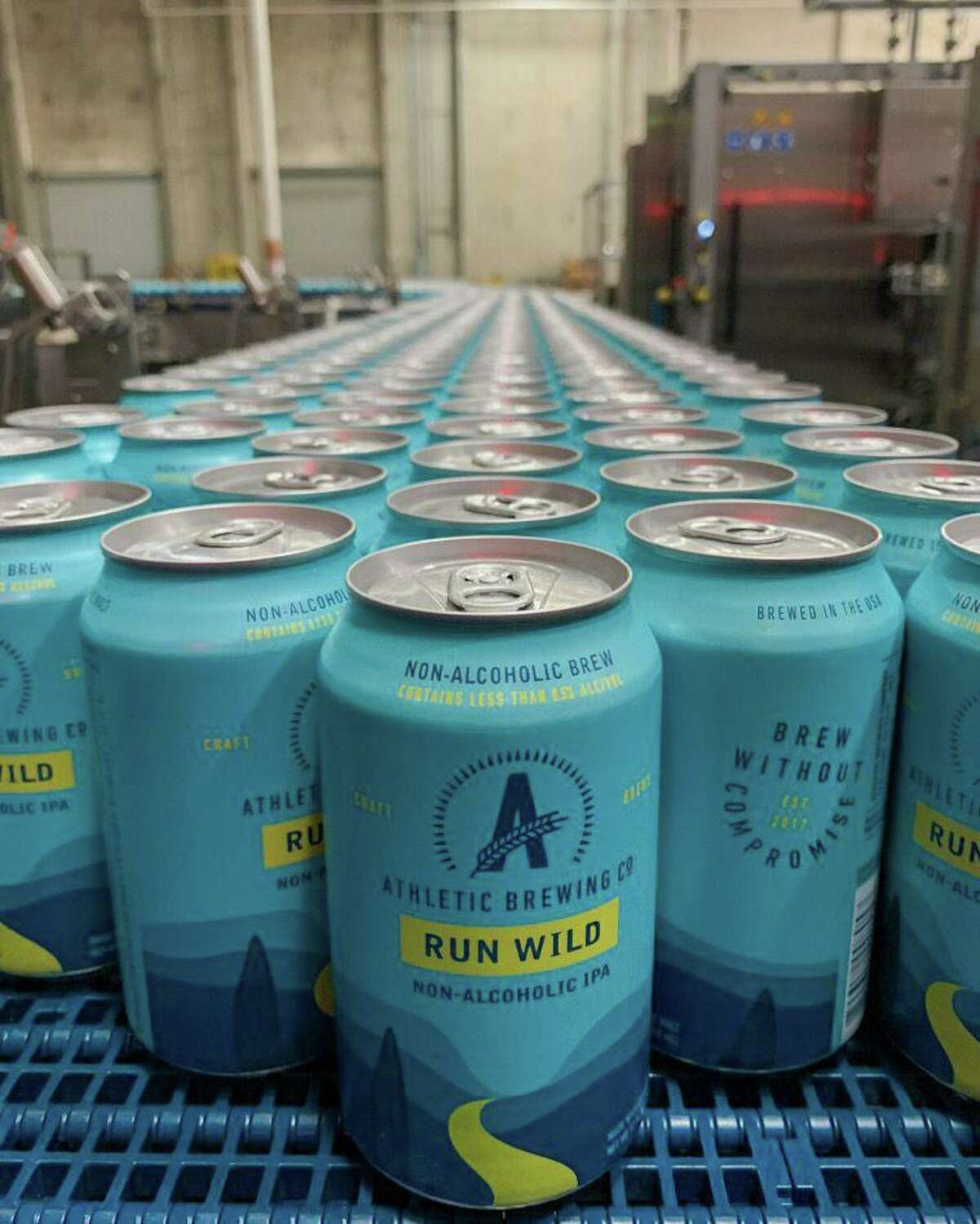 Athletic Brewing Company, based in Stratford, is Connecticut's only nonalcoholic brewery. Bill Shufelt, the co-founder of Athletic Brewing Company, the only nonalcoholic brewery in Connecticut, said he created his company because he wanted an alternative to alcoholic beverages when he was having a night out.