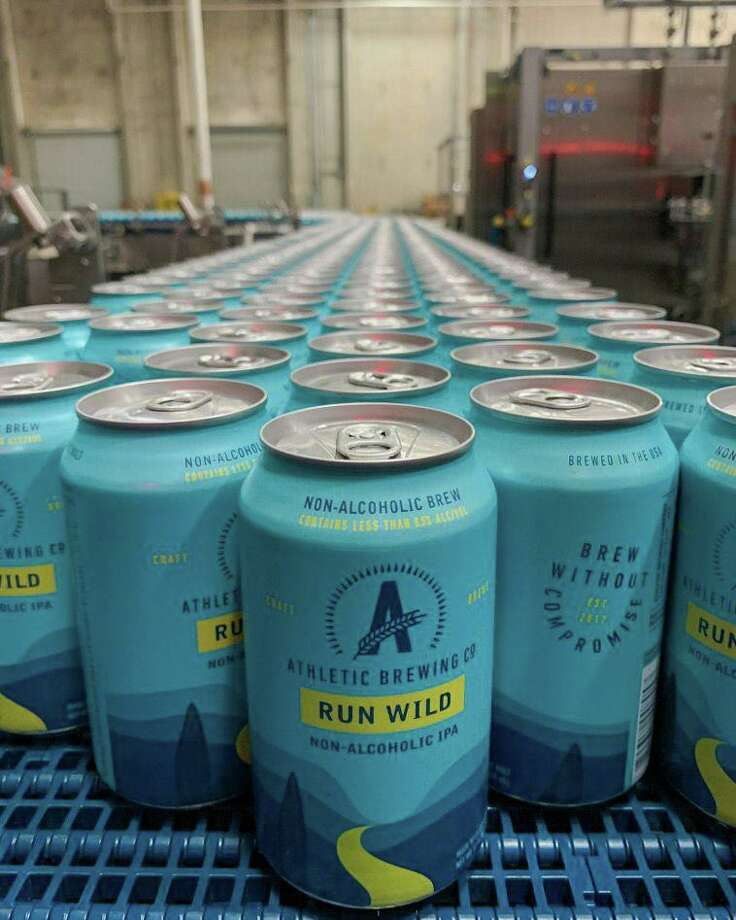 Athletic Brewing Company, based in Stratford, is Connecticut's only nonalcoholic brewery. Photo: Contributed Photo /