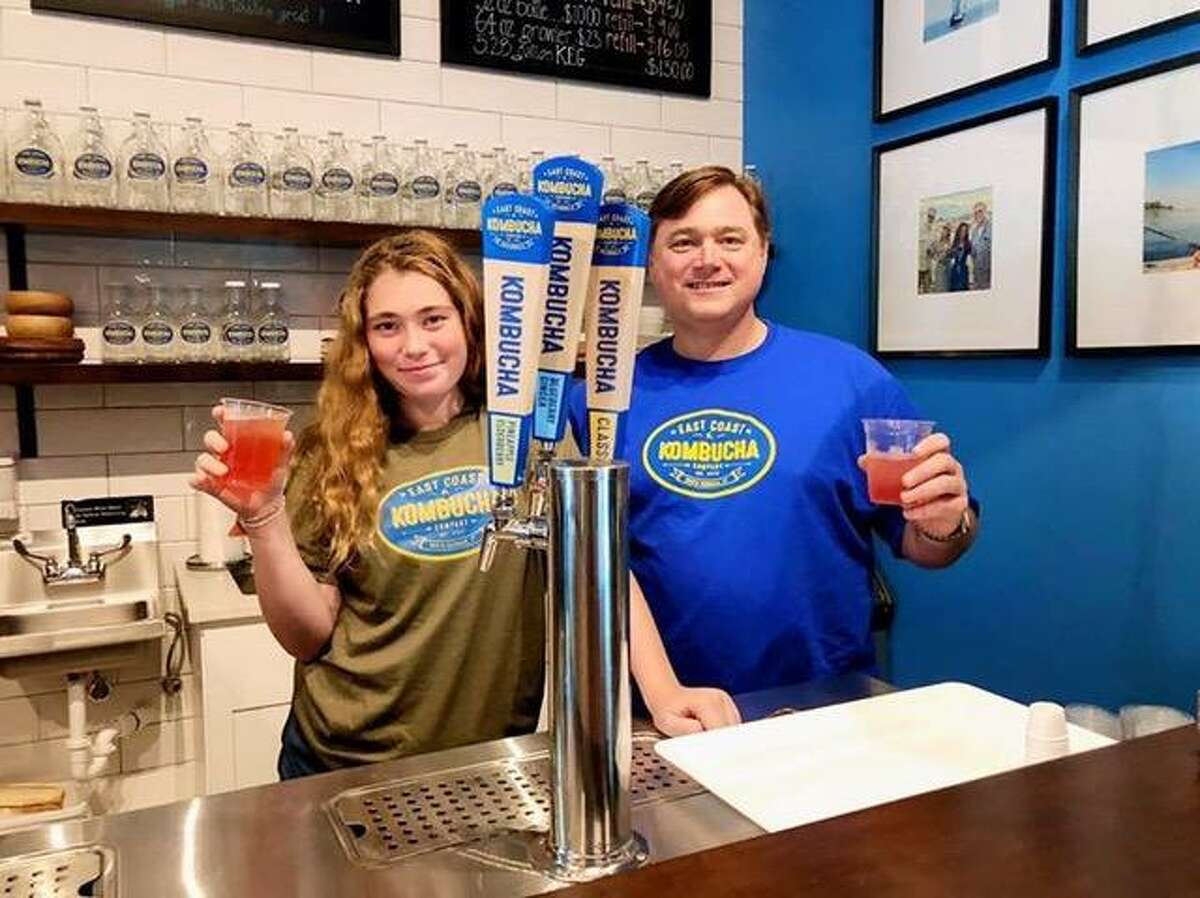 East Coast Kombucha is located in South Norwalk. Steve Gaskin, co-founder of the East Coast Kombucha Company based in South Norwalk, said his company was created because he wanted to have a healthier alternative to nonalcoholic beverages.