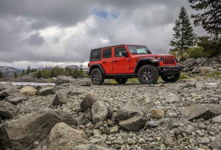 The 2020 Jeep Wrangler Rubicon features a 3,500 pound towing capacity. Photo: FCA Pressroom/ Contributed Photo