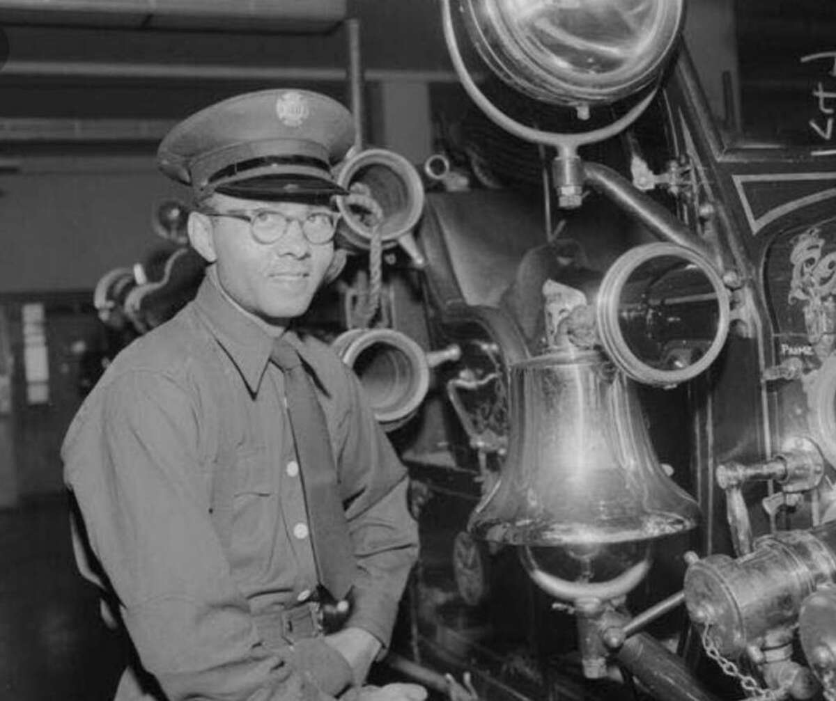 Earl Gage Jr. was hired by the San Francisco Fire Department in 1955 at age 28, after graduating from UC Berkeley.