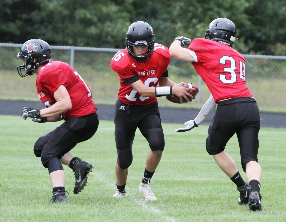 The Bear Lake football program was awarded a grant from the Manistee County Community Foundation for the purchase of new helmets, with up-to-date safety features.