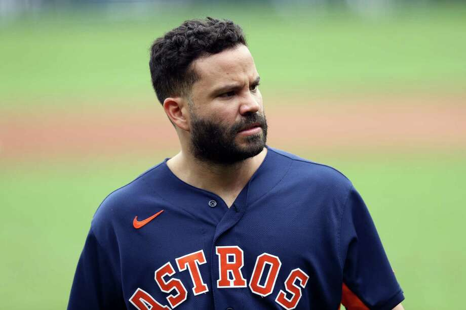 PHOTOS: More from the Astros-Royals exhibition game on Tuesday Jose Altuve #27 of the Houston Astros in action during an exhibition game against the Kansas City Royals at Kauffman Stadium on July 21, 2020 in Kansas City, Missouri. Photo: Jamie Squire, Getty Images / 2020 Getty Images