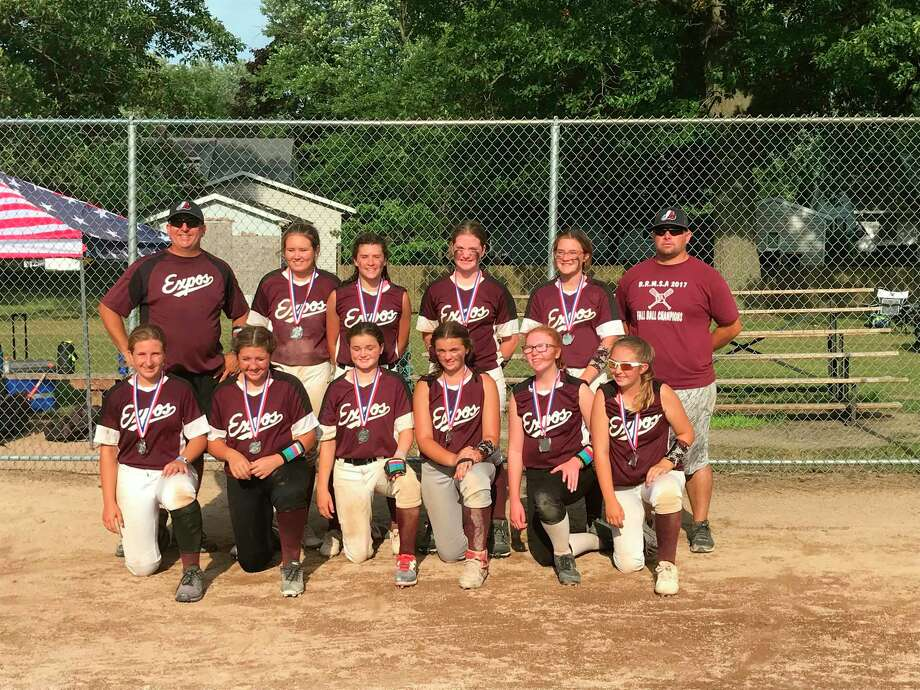 Michigan Expos 13U softball team played in Hudsonville Tournament this weekend and finished in second place. The Expos have girls from Big Rapids, Reed City and Evart. (Courtesy photo)