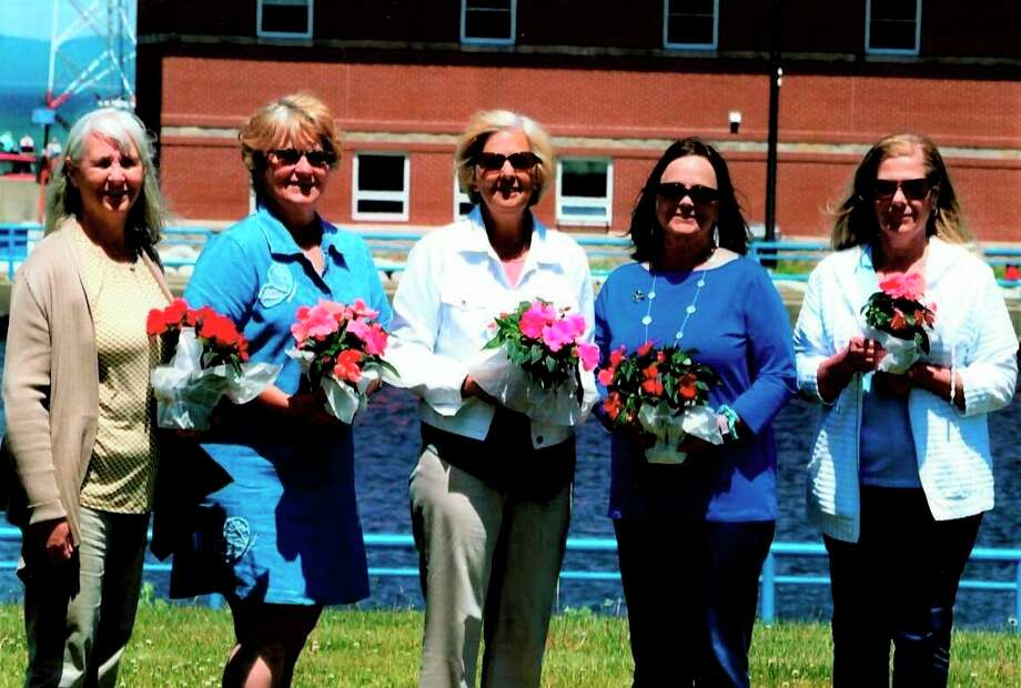 The Spirit of the Woods Garden Club Inc. installed new board members for 2020. Pictured areLorraine Schwendner, Beth Markowski, Vickie Johnson, Kris Greve and Barb Hadley. Not pictured is Betty Oswell. (Courtesy photo)