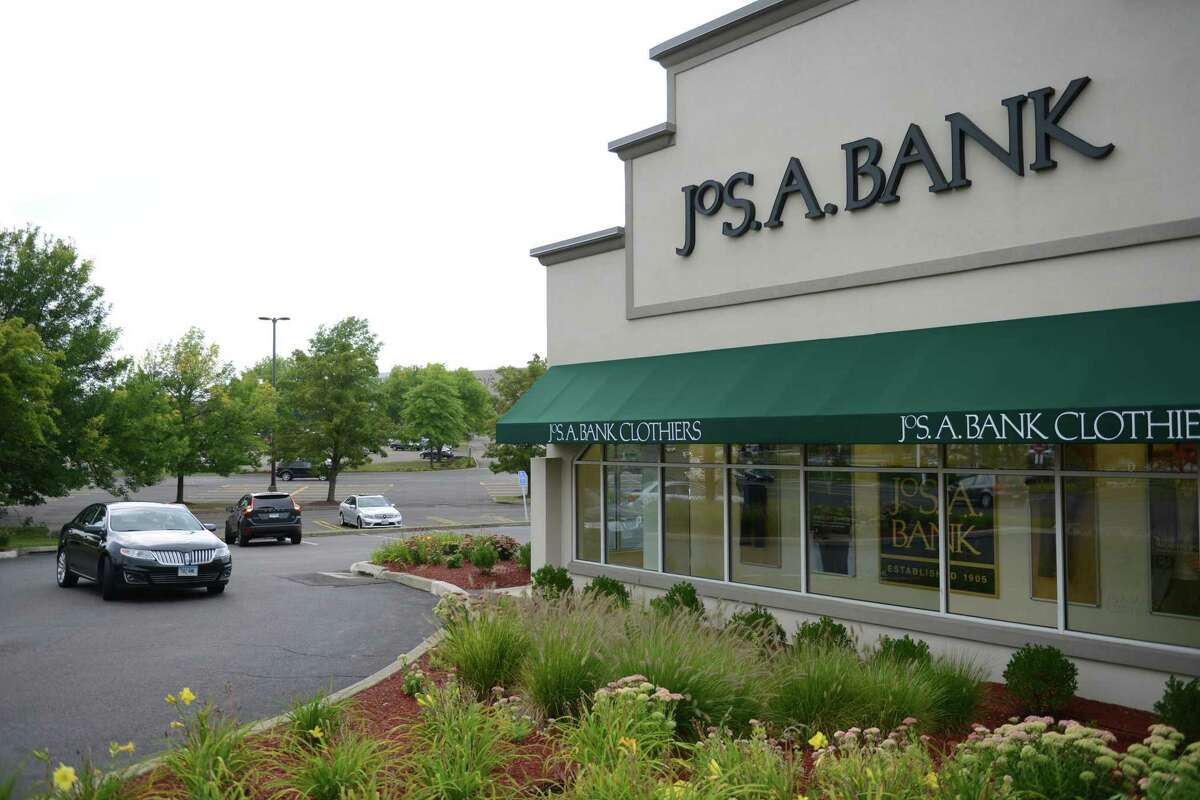A file photo of a Jos. A. Bank location in Danbury, Conn.