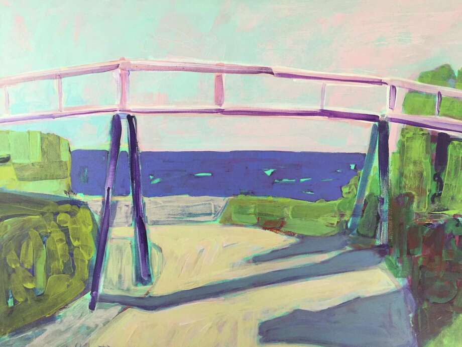 "Rowayton Arts Center instructor Lenny Moskowitz will lead a ""Painting en Plein Air"" workshop on Aug. 1. Pictured is Moskowitz's ""Sconset Trestle Bridge."" Photo: RAC / Contributed Photo"